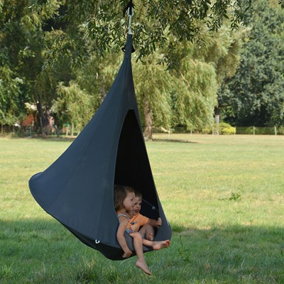 Cacoon Hanging Chair Bonsai Cacoon Kids Hanging Chair In Anthracite