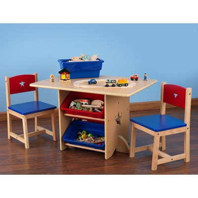 Infant Table And Chairs Kids Table Chair Set In Star Design