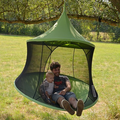Cacoon Hanging Chair Cacoon Reto Hanging Chair In Green