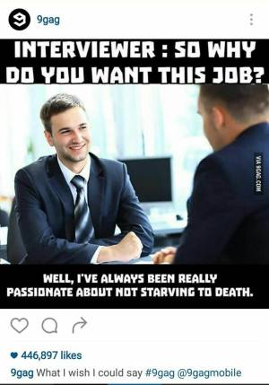 Why you want this job