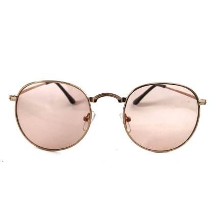 Óculos de sol feminino redondo 3449