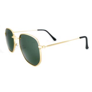 Óculos de Sol Hexagonal Polarizado RB3549 Dourado G15 - Pequeno