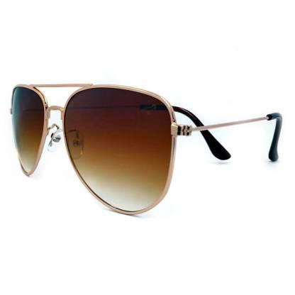 Óculos de sol aviador degradê - df