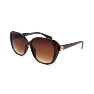Óculos de Sol Quadrado Marrom Estônia