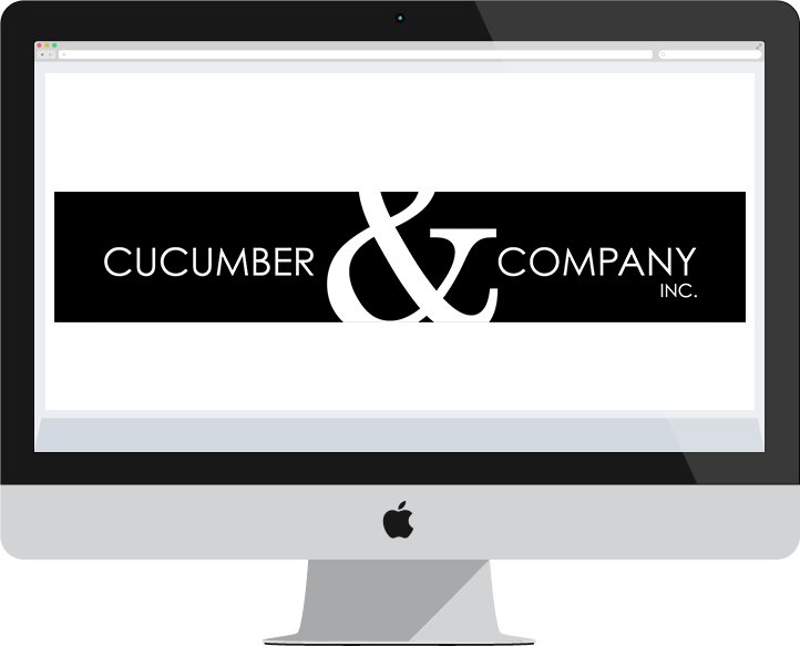 Cucumber and Company Logo In IMac