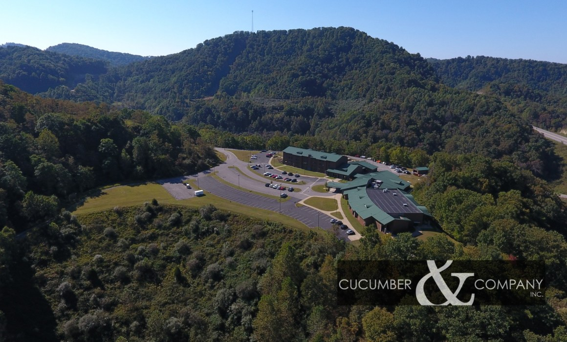 Cucumber & Company West Virginia scenic drone footage video production