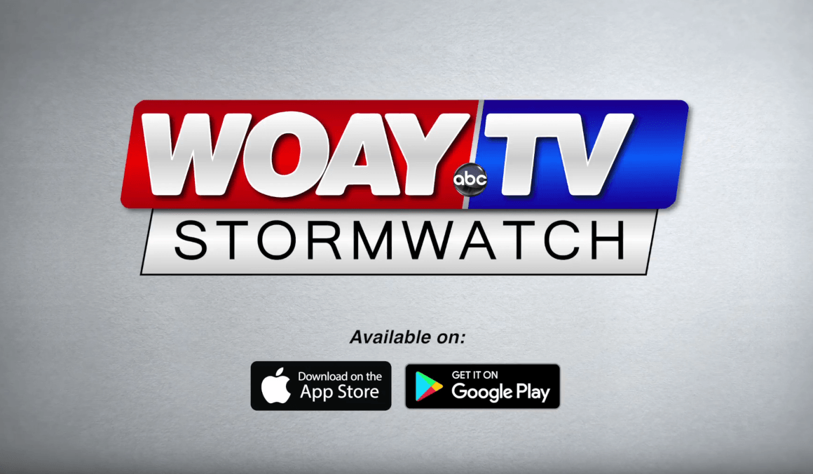 WOAY TV Stormwatch app downloads graphics and video production by cucumber & company