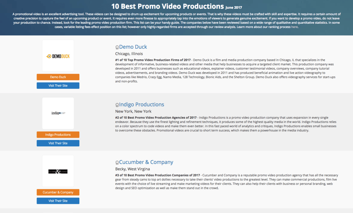 Cucumber and Co Best Promo Video Production in June 2017