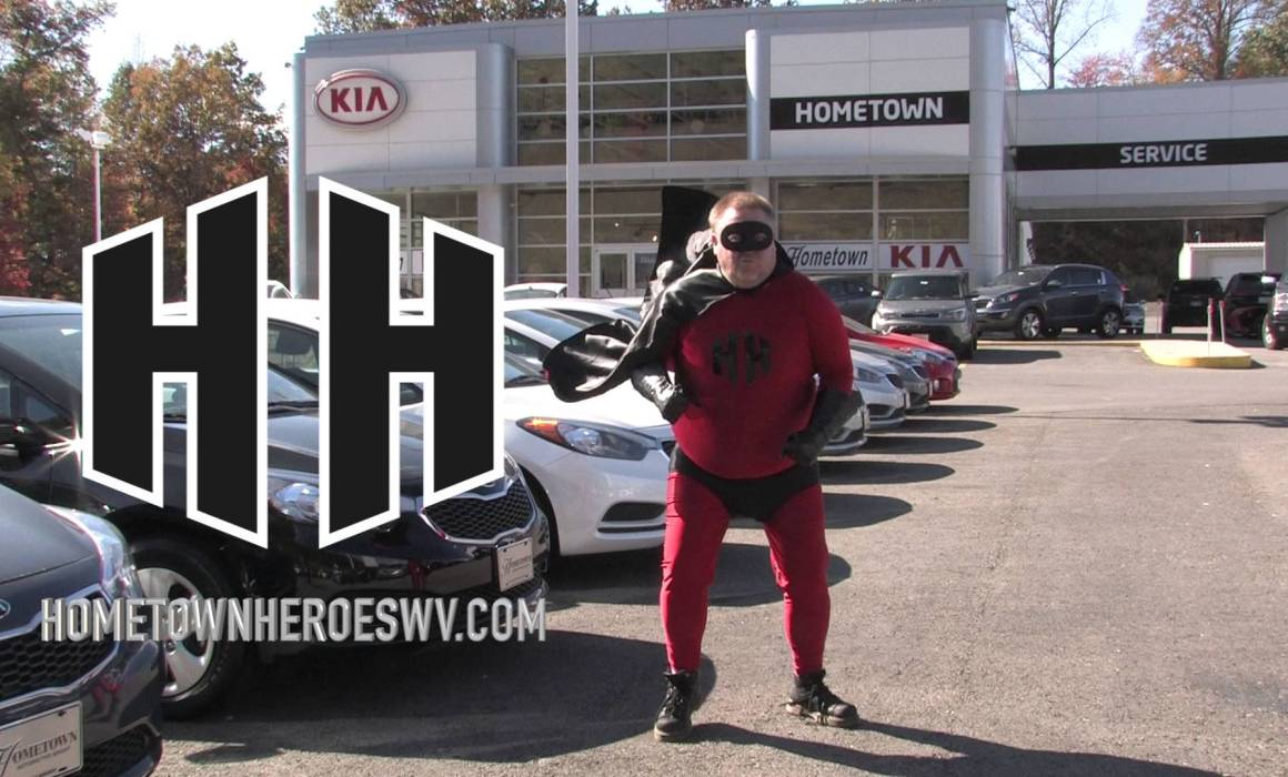 Hometown Heroes WV website superhero Video Production Beckley