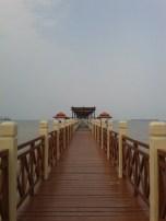 Jambatan untuk tengok selat Melaka
