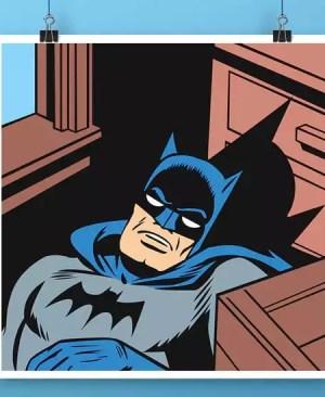 Batman Czarny Rycerz - plakat
