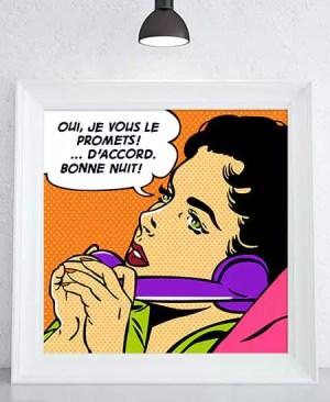"""Obiecuję Ci"" - plakat"