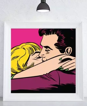"""""""Słodka miłość"""" - plakat"""