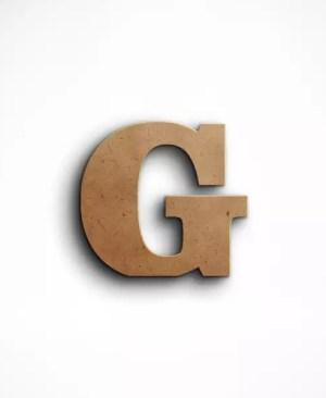 Stojąca litera G