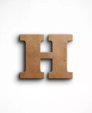 Stojąca litera H