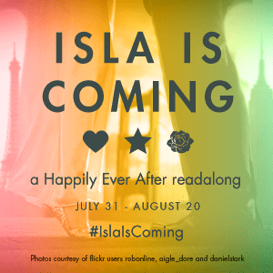 Isla Is Coming Readalong Badge