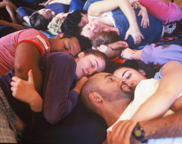 group cuddle event