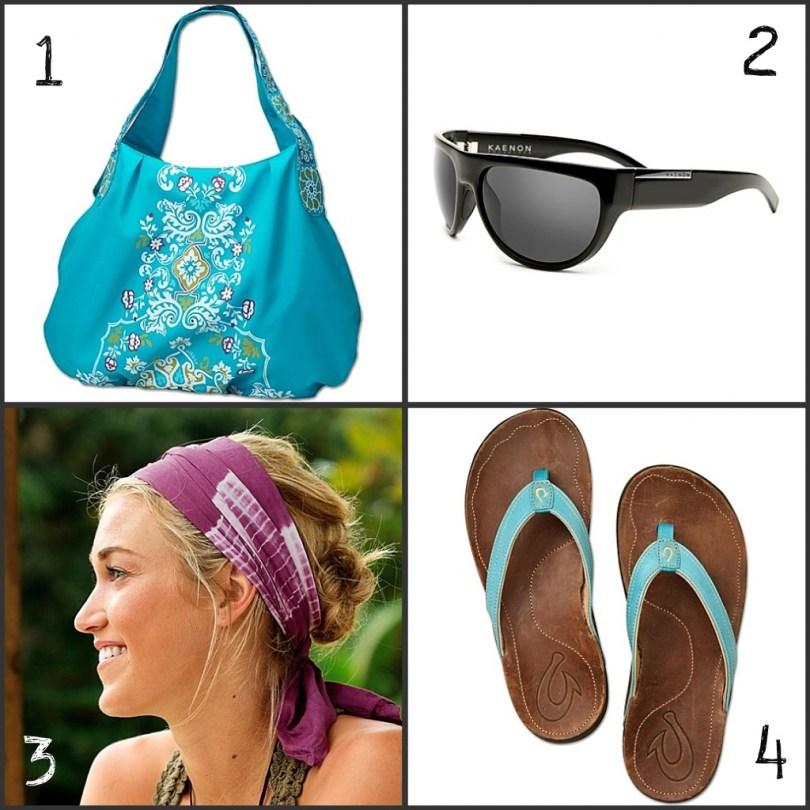 athletic summer accessories
