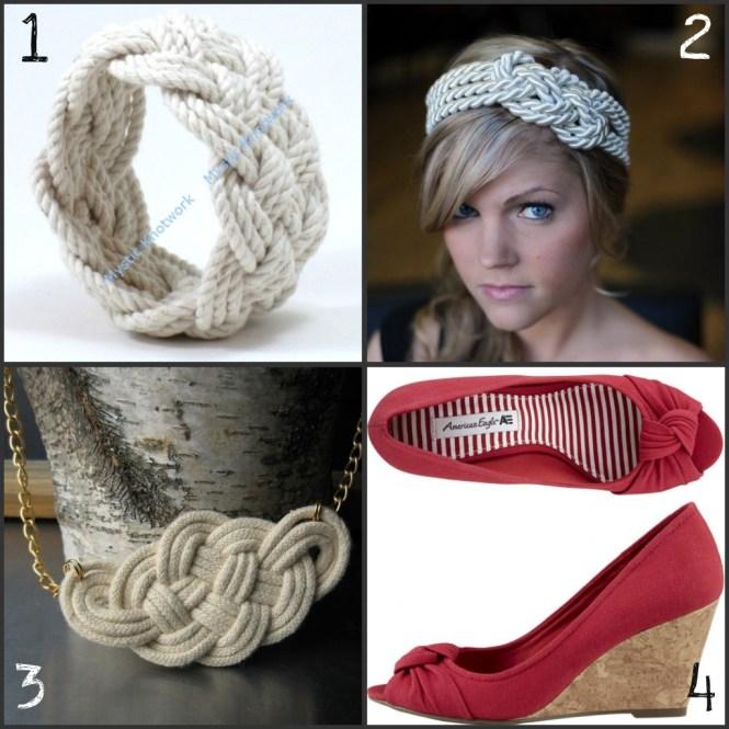 sailor inspired fashion: knots