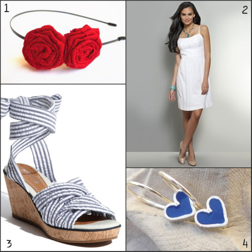 fourth of july fashion: casual party outfit