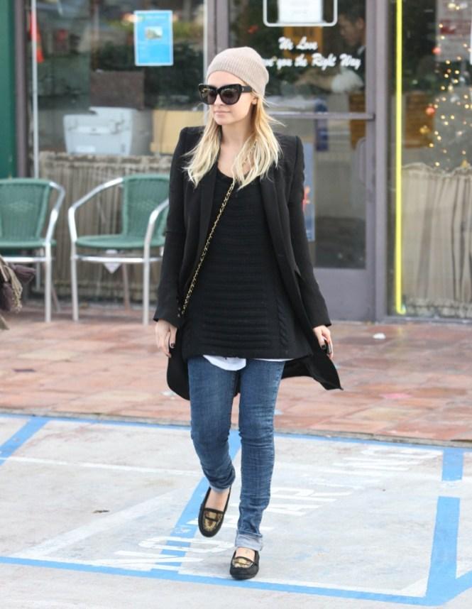 fashionable celebrity moms  nicole richie