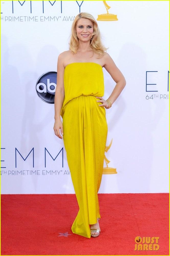 Claire Danes 2012 Emmy fashion