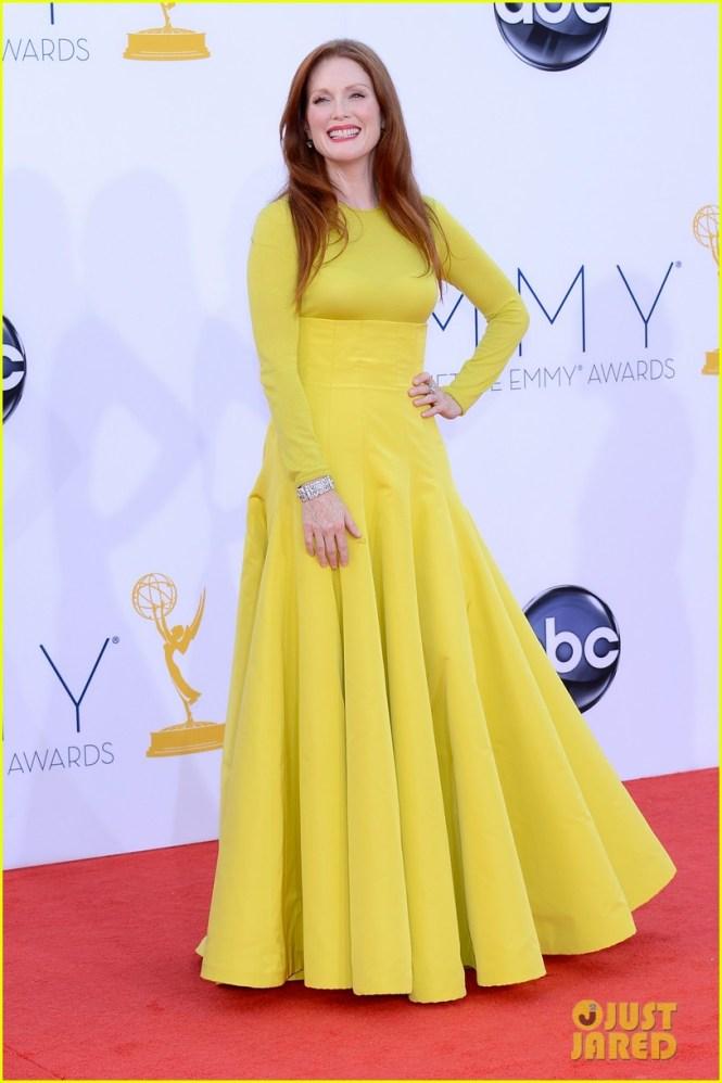 Julianne Moore 2012 Emmy fashion
