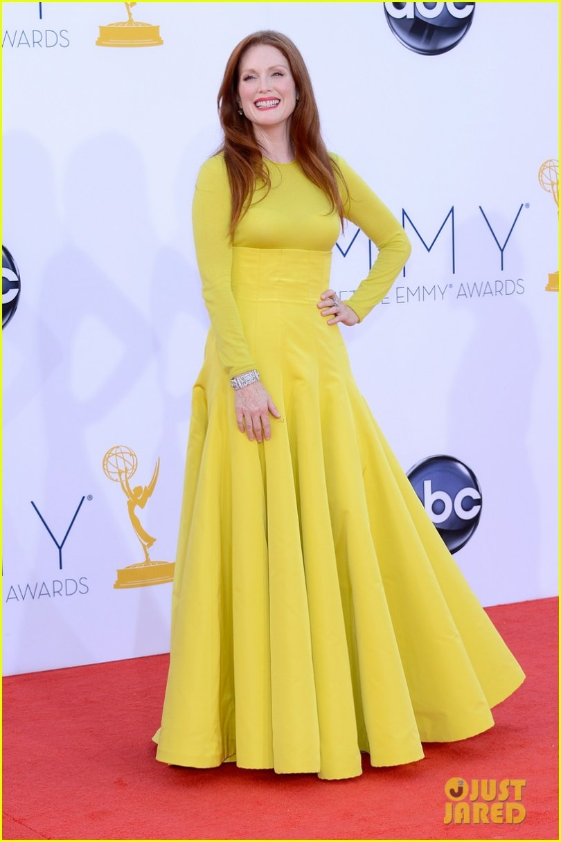 Julianne Moore 2012 Emmy fashion