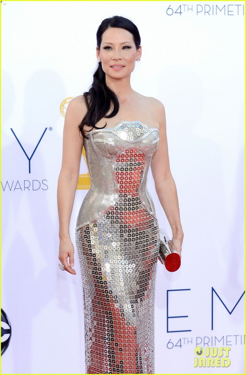 Lucy Lui 2012 Emmy fashion