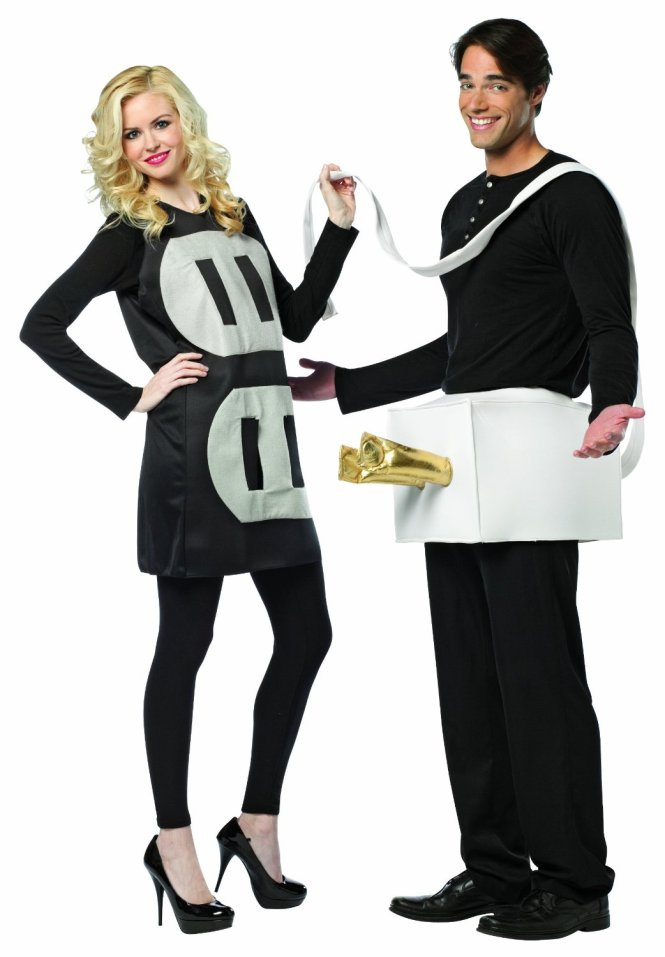 plug and socket Halloween costume