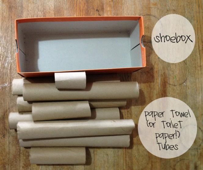 DIY craft organization supplies