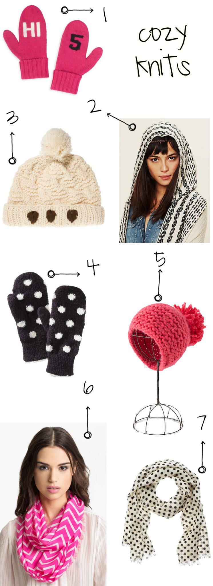 cozy winter knits