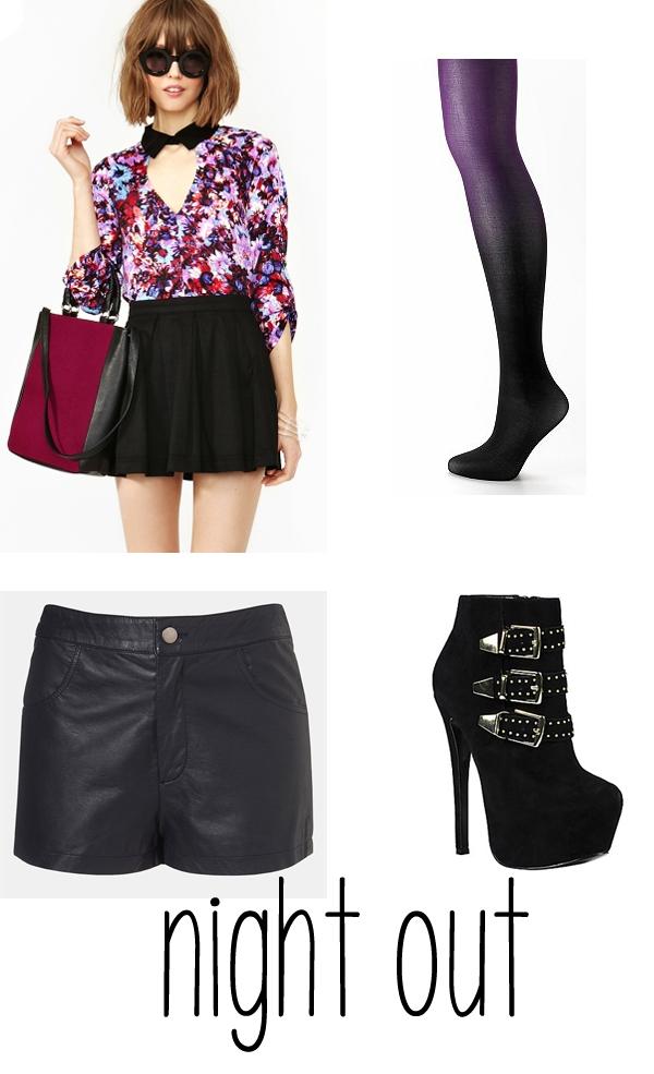 Versatile Files: Leather Shorts