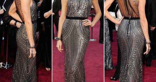 Oscars fashion: Stacy Keibler