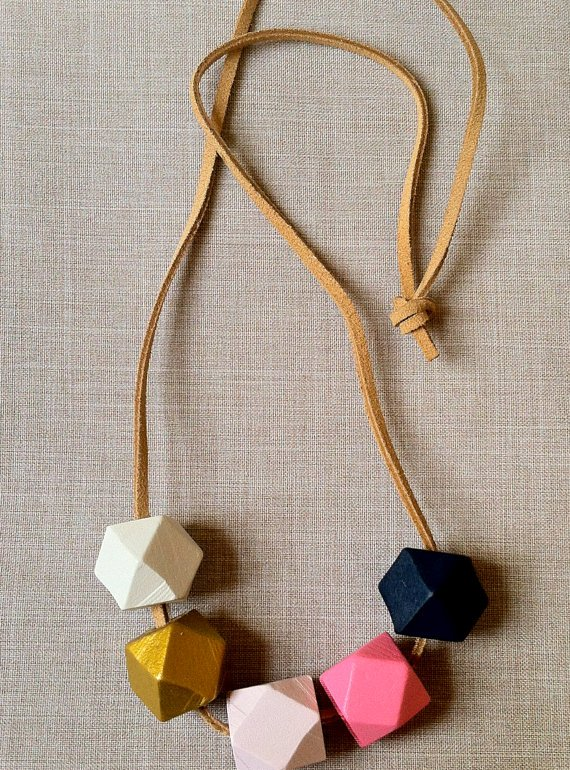 etsy finds geometry: this loves that necklace