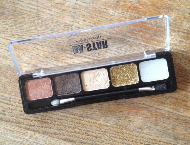 BA STAR smoky eye shadow palette