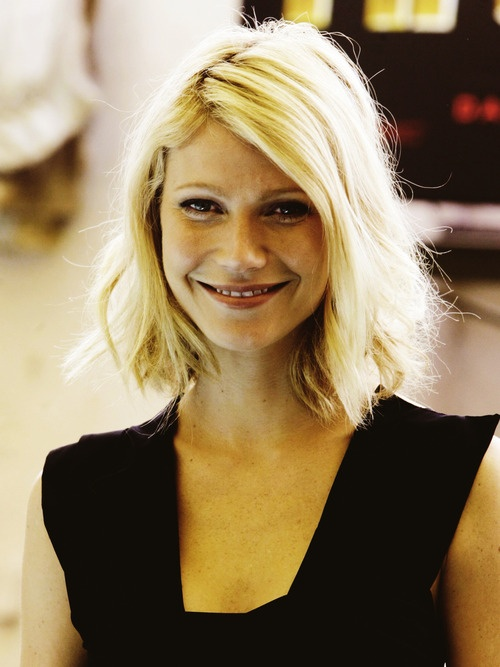 Gwyneth Paltrow choppy hair