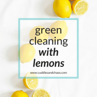 20 Tips for DIY Green Cleaning with Lemons