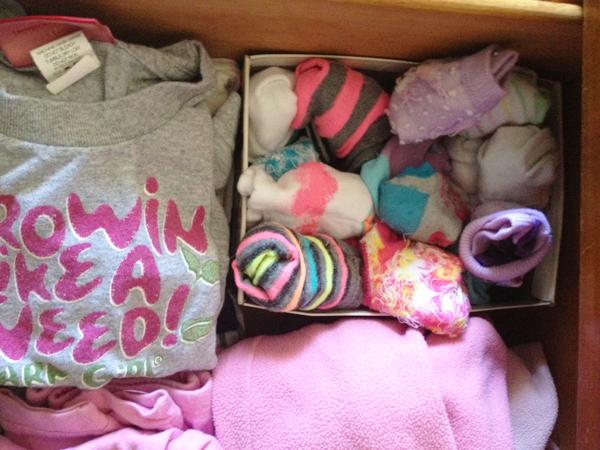 eco-friendly organization: shoe box