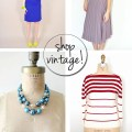 Etsy finds: eco-friendly vintage style