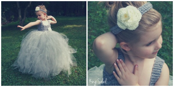Momtrepreneur: King Soleil tutu and headband