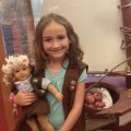 American Girl cafe with the Brownies