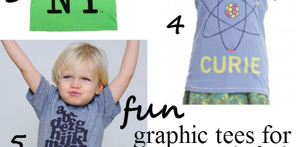fun graphic tees for kids