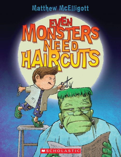 Best Halloween Kids Books: Even Monsters Need Haircuts