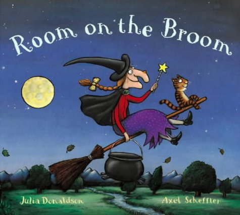 Best Halloween Kids Books: Room on the Broom