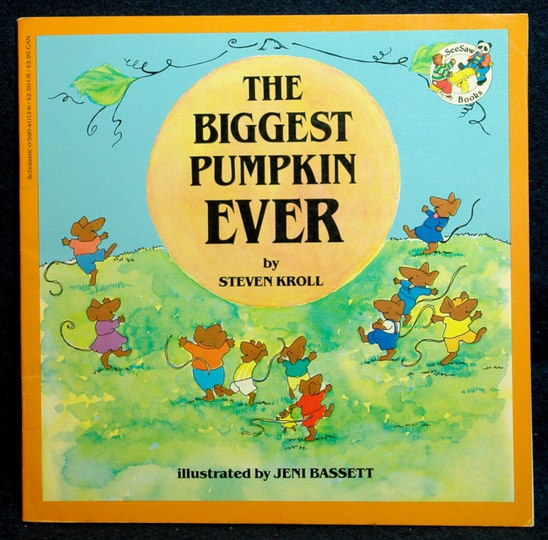 Best Halloween Kids Books: The Biggest Pumpkin Ever