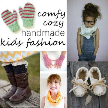 comfy cozy handmade kids fashion