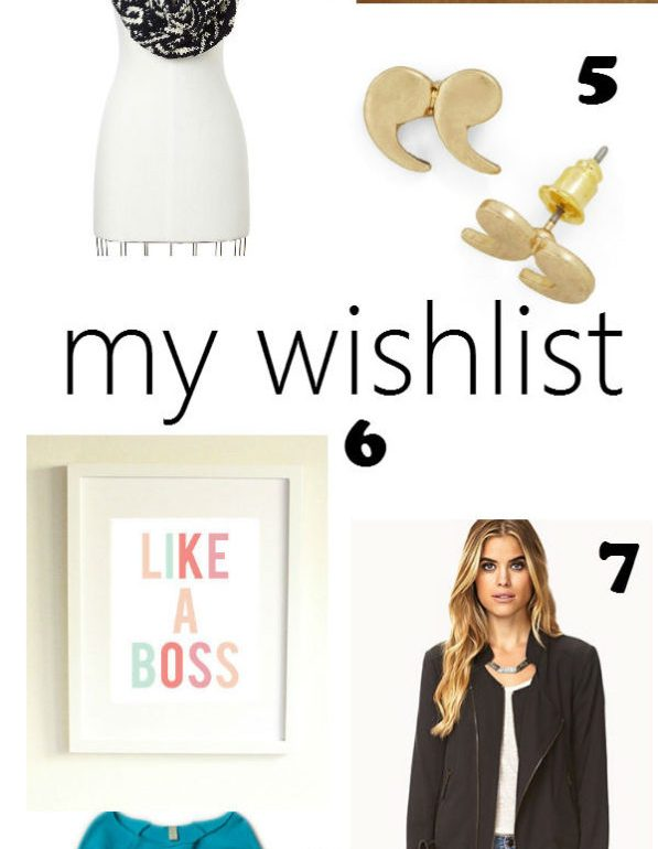 gift guide: my wishlist
