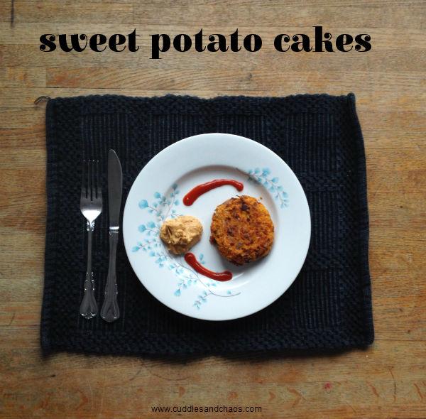 sweet potato cakes