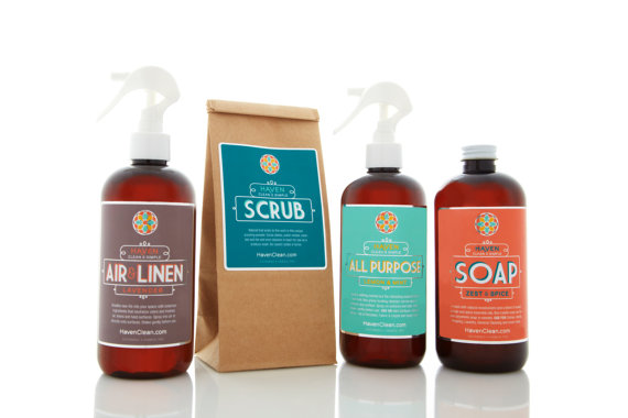 Etsy Finds: Home to Haven clean house trial kit